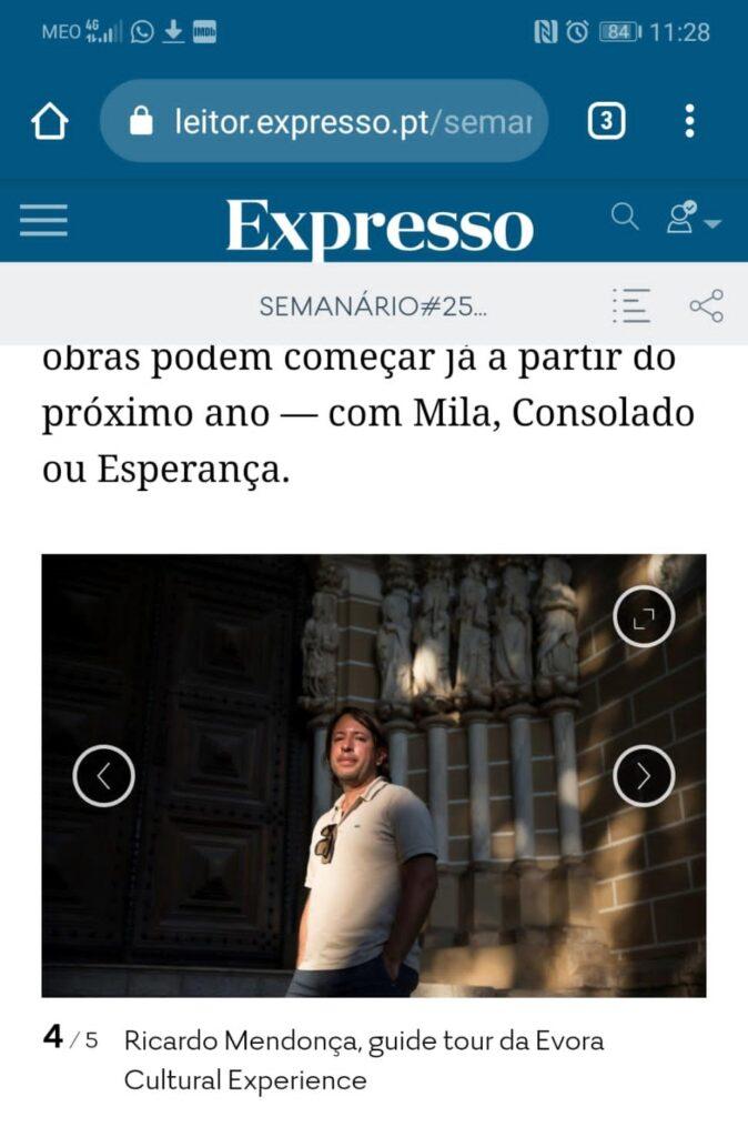 Évora Cultural Experience - Évora 2027 - Expresso